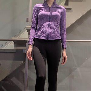 Sweaters - Purple Athletic Sweater